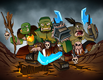 Orcs Promo Animation - Treasure Wars