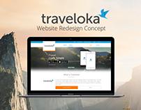 Traveloka - Website Redesign Concept