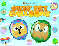 Cute Pet Balloons - Android and iOS