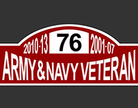 Military Appreciation Rally Plate