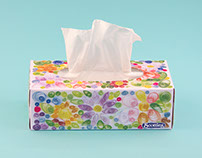 Scotties Tissue Box