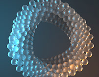 Abstract Ring - C4D animation