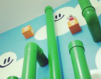HE:labs Super Mario themed toilets