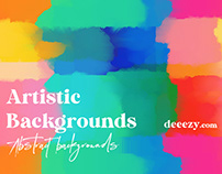 Free Abstract Artistic Backgrounds