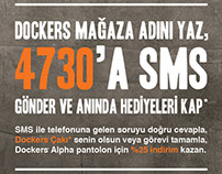 Dockers Interactive Campaign with SMS
