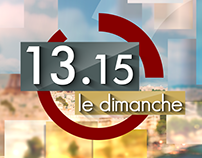 13h15 - New Logo - Opening title 2015 / 2016