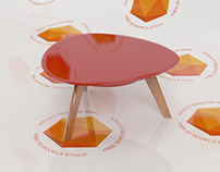 Parkland Center Table 3D Model