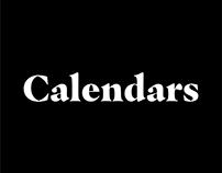 Almanaques | Calendars