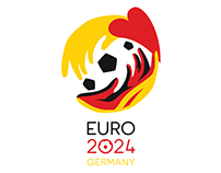 EURO 2024 Germany Logo Proposal