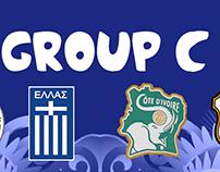 Brazil 2014 Fantasy kits Group C