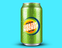 30+ Photorealistic Can / Soft-Drink Packaging Mockups