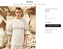 Bershka texture t-shirt / Summer 16
