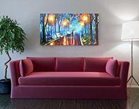 Art & Sofa Mockup
