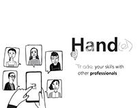 Hand[el] App | A UX & UI look into a new world