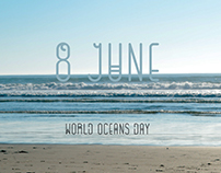 Poster for World Oceans Day