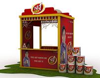 No1 Condense Milk Kiosk