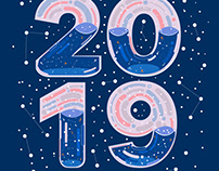 Happy New Year : 2019
