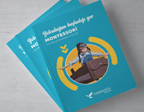 Montessori Information Booklet Design