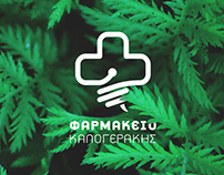 Kalogerakis Pharmacy Branding