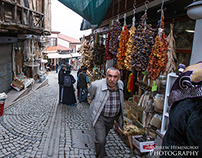 Ankara: streets of the old city