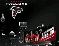 Atlanta Falcons | Billboard Design