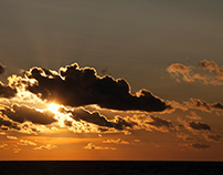 O zachodzie słońca