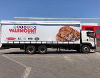 Valemount Truck Branding
