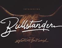 BULLSTANDER FONT