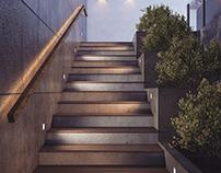 Stair Interior Design - lliano villa