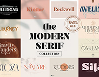 The Modern Serif Collection - $680 Off