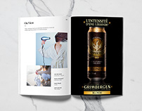 Grimbergen print personal project