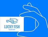 LUCKY FISH - LOGO AND BRANDING