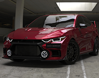 2023 Mitsubishi Lancer Evolution XII