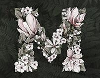 Illustrated Botanical logo for Maximal