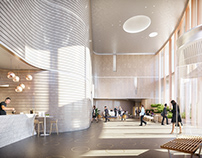Granville Office Tower - Interiors & Rooftop