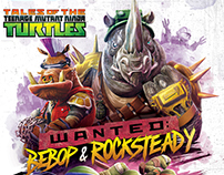 Wanted: Bebop & Rocksteady TMNT DVD Cover