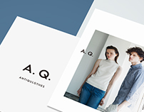 A.Q. ANTIQULOTHES SS15 Look Book on Post Cards