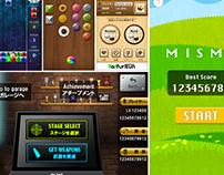 Casual Game Apps UI Design Collection   @ tekunodo.