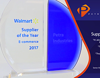 Walmart E-commerce Award 2017