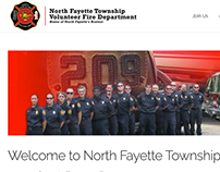 North Fayette Volunteer Fire Department Website Design