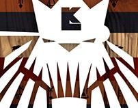 LK AFRICA hiphop lion 'DOOM BA' symbol