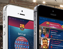 FC Barcelona iOS Keyboard&Newsfeed App