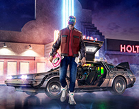 Back to the Future | Part IV - Key Art