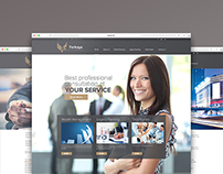 Terkaya wealth management responsive website design