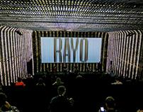 RAYO ⚡️ A expanded visual arts festival identity