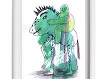 """Monsters"" Expo Sala Ciutat Granollers 2016"