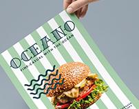 Oceano Restaurant Branding