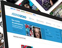 Proposta de redesign do site AssineGlobo