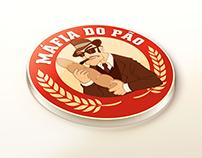 Logo & Mascote - Máfia do Pão