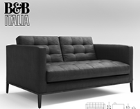 My 3D model - B&B ITALIA ac lounge small sofa